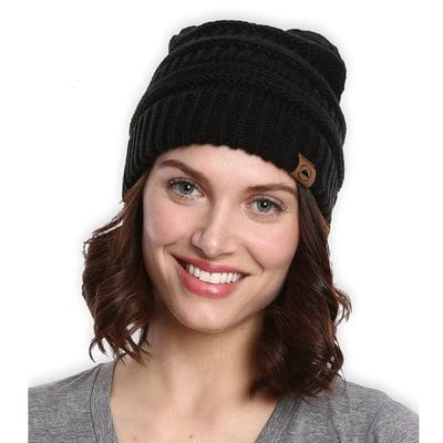 Cable Knit Beanie by Tough Headwear-Best Beanies