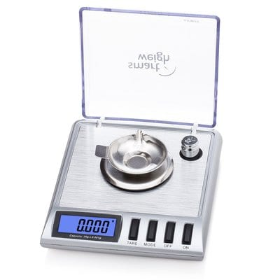 Smart Weigh GEM20 High Precision Digital Milligram Scale 20 x 0.001g Reloading, Jewelry and Gems Scale-Best Digital Scales