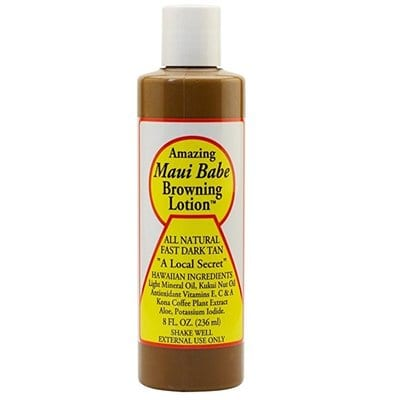 Maui Babe Browning Lotion-5 Best Tanning Lotions