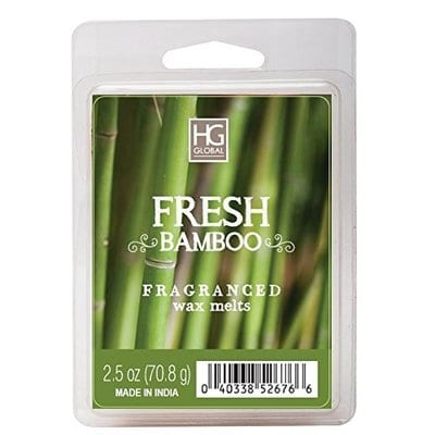 Hosley Fresh Bamboo Scented-5 Best Wax MeltsHosley Fresh Bamboo Scented-5 Best Wax Melts
