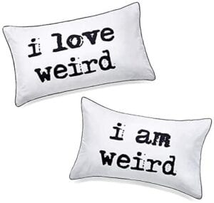 Unique Gifts for Valentines Day for Her - Weird Couples Pillowcases