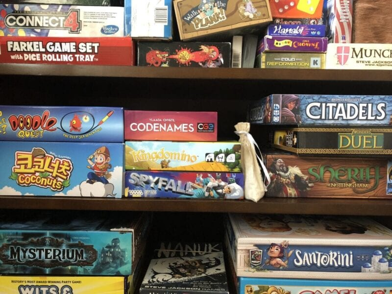 best board games for adults - How to organize board games