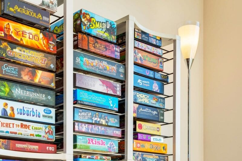 best board games for adults - How to store board games