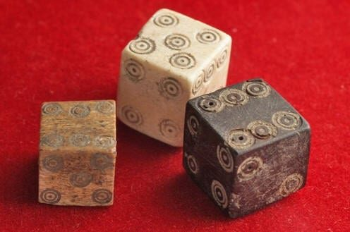 best board games for adults - ancient dice