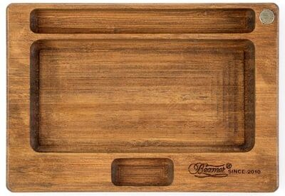 Beamer Juju All-Natural Bamboo Rolling Tray - Original Finish - 7 X 5 inch-Best Rolling Trays