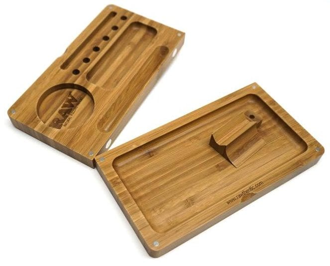 Raw magnetic tray-best rolling trays
