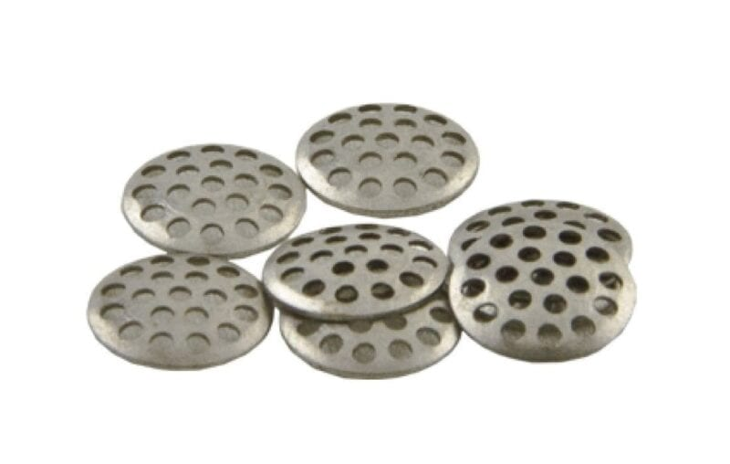 Titanium Premium Concave 8mm - best screens for pipes