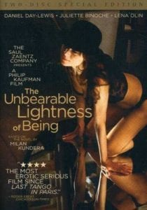 Best Erotic Movies- The Unbearable Lightness of Being