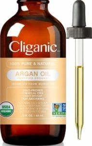 Best Essential Oil for Skin- Cliganic Organic Argan Oil