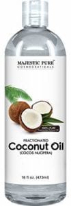 Best Essential Oil for Skin- Majestic Pure Fractionated Coconut Oil