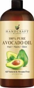 Best Essential Oils for Skin- Handcraft Blends Pure Avocado Oil