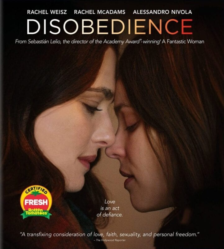 best adult movies - Disobedience