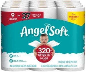 Best Toilet Paper Brands - Angel Soft