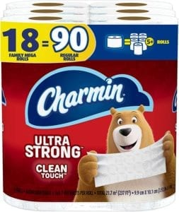 Best Toilet Paper Brands - Charmin Ultra Strong