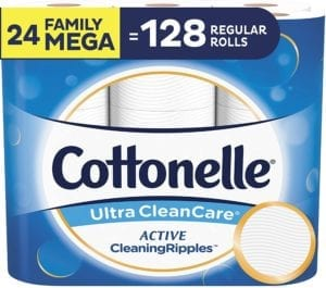 Best Toilet Paper Brands - Cottonelle Ultra Cleancare