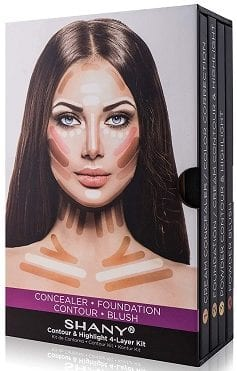 Best Contour Kits - SHANY 4-Layer Contour and Highlight Makeup Kit