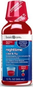 best cough syrups - Basic Care Nighttime