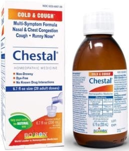 best cough syrups - Chestal Homeopathic