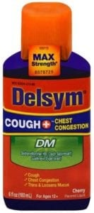 best cough syrups - Delsym Max Strength