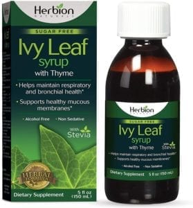 best cough syrups - Herbion Ivy Leaf
