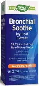 best cough syrups - Nature's Way Bronchial Soothe
