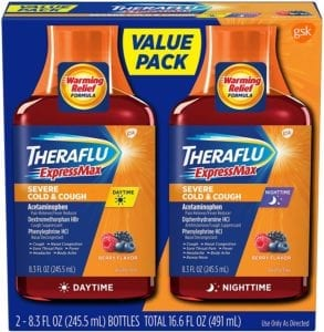 best cough syrups - Theraflu Express Max