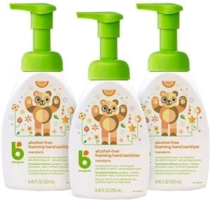 best hand sanitizers - Babyganics