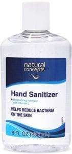 best hand sanitizers - Natural Concepts