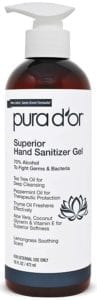 best hand sanitizers - PURA D'OR