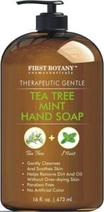 best hand soaps - First Botany