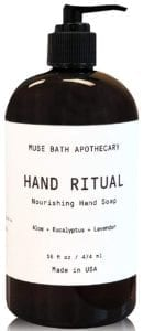 best hand soaps - Muse Bath Apothecary Hand Ritual