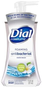 best antibacterial soaps - dial foaming soap