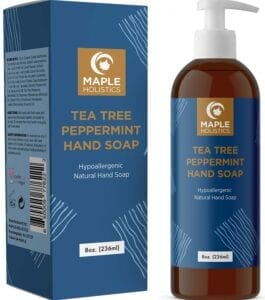 best antibacterial soaps - maple holistics