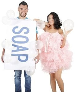 Best Couples Costumes - Costume Agent Loofah and Soap