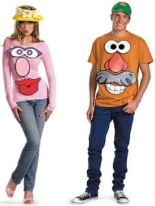 Best Couples Costumes - Disguise Store Mr. & Mrs. Potato Head