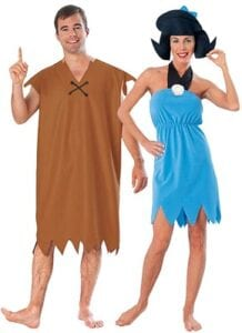 Best Couples Costumes - Future Memories Barney and Betty Rubble
