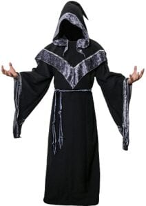 Best Mens Costumes - Dark Mystic Sorcerer Robe - CISSTEC
