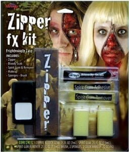 best halloween makeup - Fun World Zipper Makup Kit