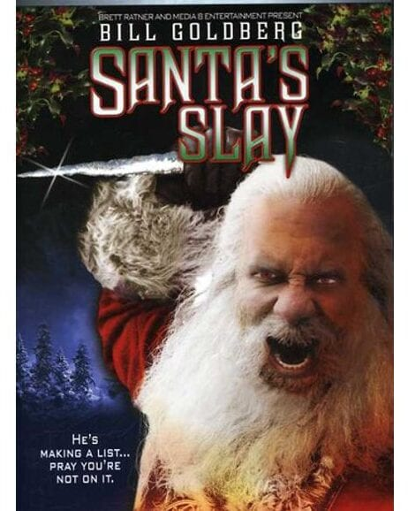 Best Christmas Horror Movies - Santa's Slay