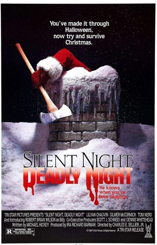 Best Christmas Horror Movies - Silent Night, Deadly Night