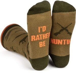 Chistmas Gifts For Boyfreinds - Lavley I'd Rather Be Socks