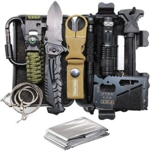 Chistmas Gifts For Boyfreinds - TRSCIND Survival Gear Kit