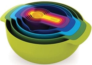 best housewarming gifts - Joseph Nesting Bowls and Spoons