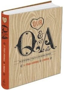 Best Wedding Gifts - Our Q&A a Day Journal