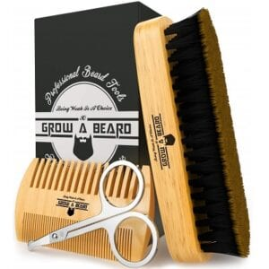 Grow Alpha Beard Grooming Kit