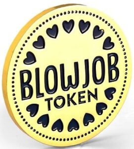 Best Valentine's Gifts for Him - Seymour Butz Blowjob Token