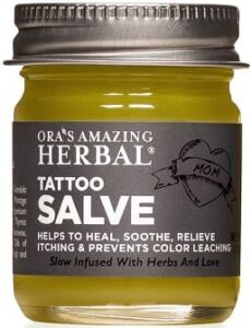 Best Tattoo Aftercare Products - Ora's Tattoo Salve