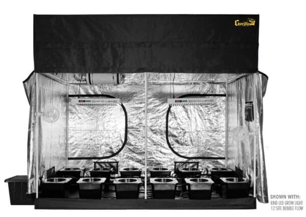 supercloset review - SuperRoom 5x9 Grow System Tent