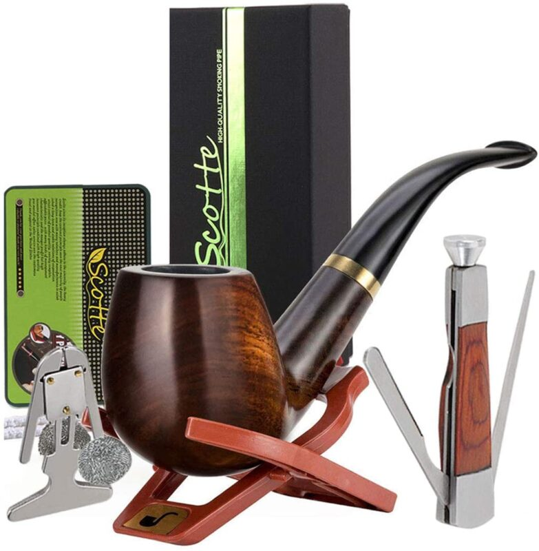 best wood pipes - Scotte Solid Set